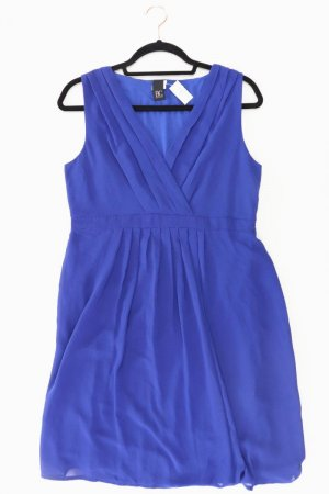 Best Connections Midi Dress blue-neon blue-dark blue-azure viscose