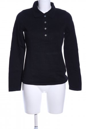 Best Connections Polo-Shirt schwarz Casual-Look