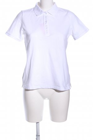 Best Connections Camiseta tipo polo blanco look casual
