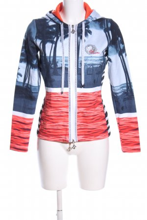 Best Connections Shirt Jacket themed print casual look