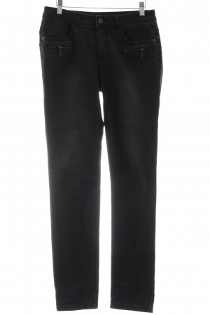 Best Connections Slim Jeans schwarz Casual-Look