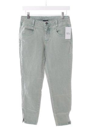 Best Connections Slim Jeans graugrün
