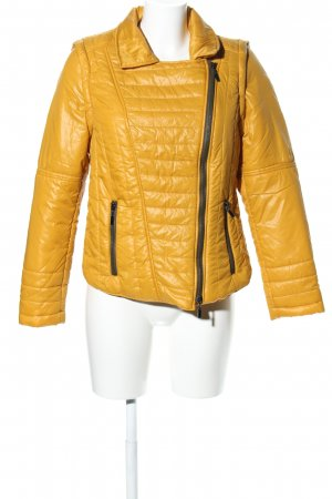 Best Connections Steppjacke blassgelb Steppmuster Casual-Look