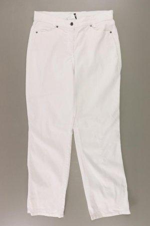 Best Connections Jeansy z prostymi nogawkami w kolorze białej wełny Bawełna