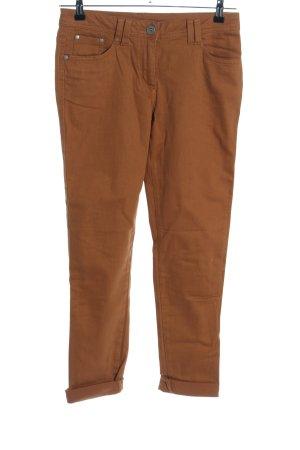 Best Connections Jeansy z prostymi nogawkami brązowy W stylu casual
