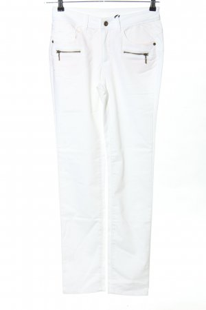 Best Connections Stretchhose weiß Casual-Look
