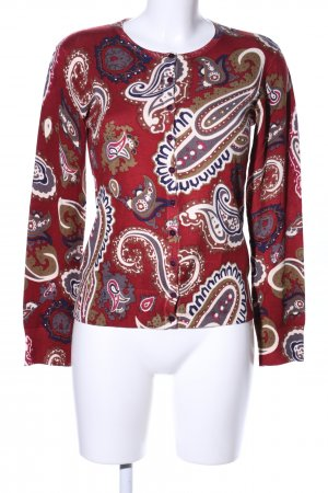 Best Connections Strickjacke Allover-Druck Casual-Look