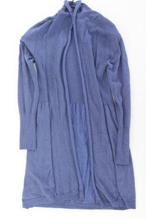 Best Connections Strickjacke Größe 42 Langarm blau aus Viskose
