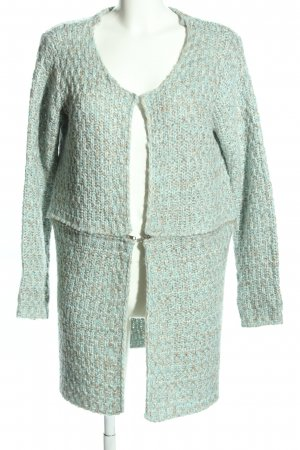 Best Connections Knitted Coat turquoise casual look