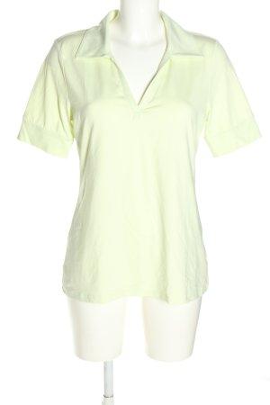 Best Connections T-Shirt blassgelb Casual-Look
