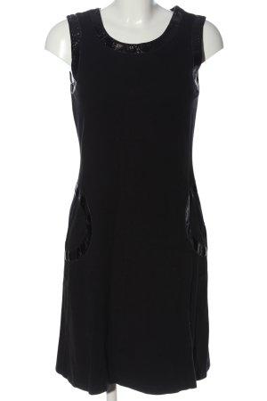 Best Connections Trägerkleid schwarz klassischer Stil
