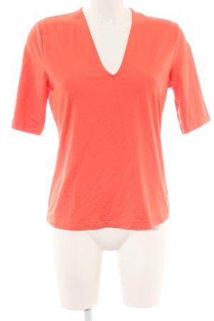 Best Connections V-Ausschnitt-Shirt hellorange Casual-Look