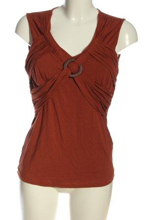 Best Connections V-Ausschnitt-Shirt rot Casual-Look