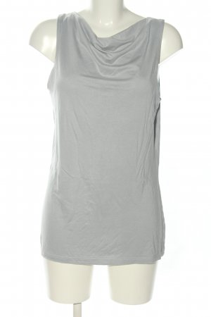 Best Connections Cowl-Neck Top light grey casual look