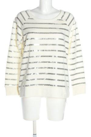 Best Connections Wełniany sweter biały W stylu casual