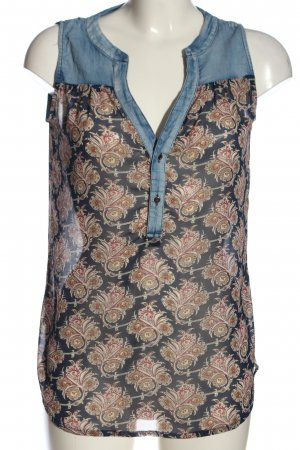 Best emilie Mouwloze blouse volledige print casual uitstraling