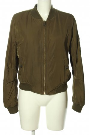Best emilie Giacca bomber cachi stile casual