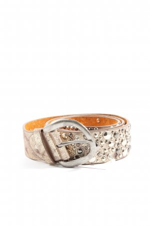 Best emilie Leather Belt bronze-colored casual look