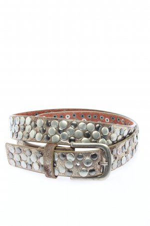 Best emilie Cintura di pelle argento stile casual