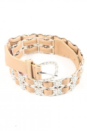 Best emilie Faux Leather Belt natural white casual look