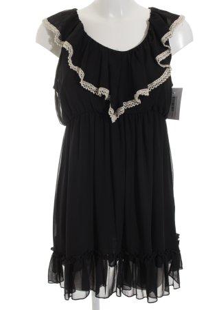Best emilie Mini Dress black-natural white elegant