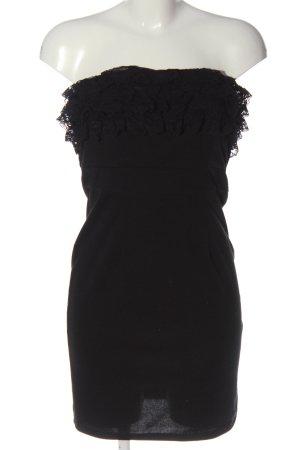 Best emilie Robe épaules nues noir élégant