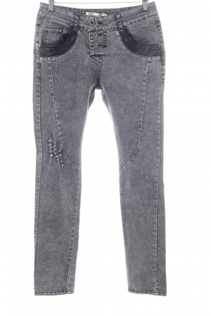 Best emilie Jeans skinny grigio chiaro stile casual