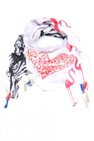 Best emilie Summer Scarf themed print casual look