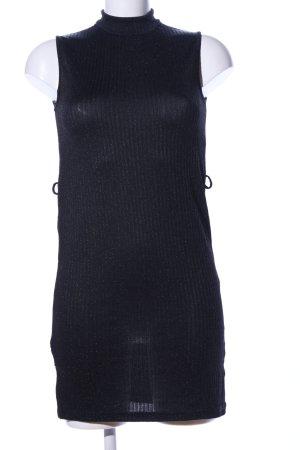 Best emilie Abito di maglia nero motivo a righe stile casual