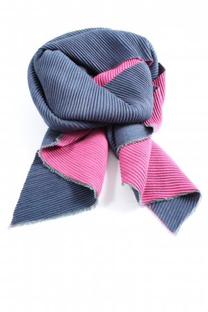 Best emilie Knitted Scarf blue-pink casual look