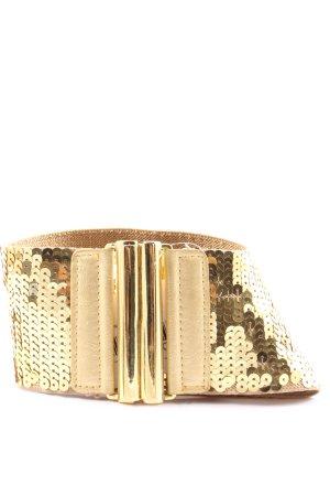 Best emilie Taillengürtel goldfarben-wollweiß Elegant