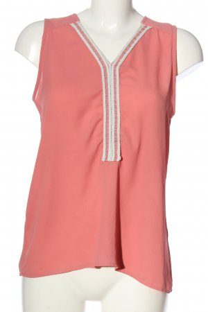 Best mountain Sleeveless Blouse pink casual look