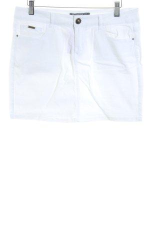 Best mountain Denim Skirt white simple style