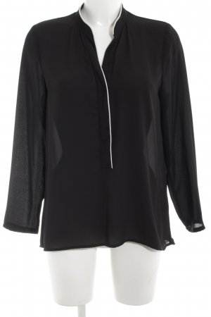 Best mountain Long Sleeve Blouse black business style