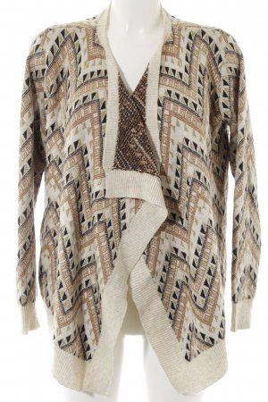 Best mountain Cardigan abstract pattern casual look