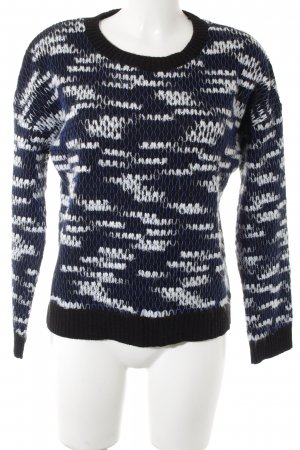 Best mountain Knitted Sweater abstract pattern