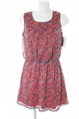 Best mountain Pinafore dress abstract pattern casual look