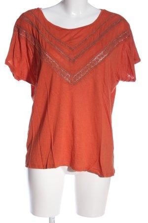 Best mountain Oversized Shirt light orange casual look