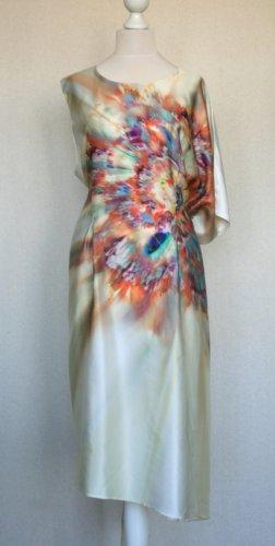 Designer-Seidenkleid/Tunika mehrfache Trageweise, One size