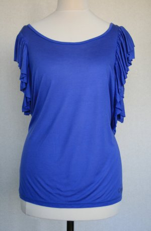 Liu jo Backless Top steel blue viscose