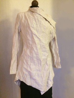 Wraparound Jacket oatmeal cotton