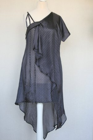 luftige Tunikakleid aus reiner Seide by Freaks & Icons, Gr. 36 - 40