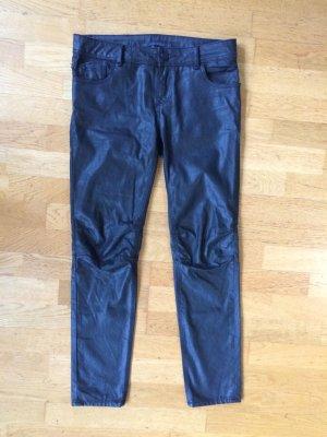 Schwarze Jeanshose von Zara 38