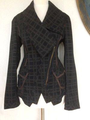 Sommer-Baumwoll-Blazer mit  Karomuster bei Westwood inspiriert 38