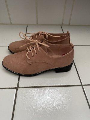 Bestelle Sznurowane buty stary róż