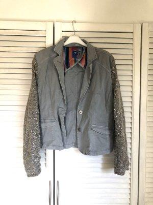 Besticke Jacke im Jeansjacken-Stil