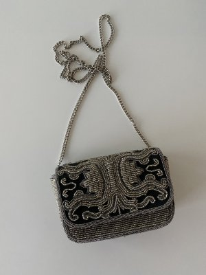 Ba&sh Mini Bag silver-colored-dark blue