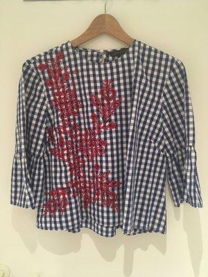 Bestickte Bluse von Zara Woman in Größe 40 (M)