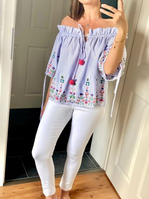 Lucy wang Carmen Blouse multicolored
