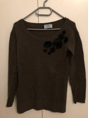 Bestickter Pullover von prada